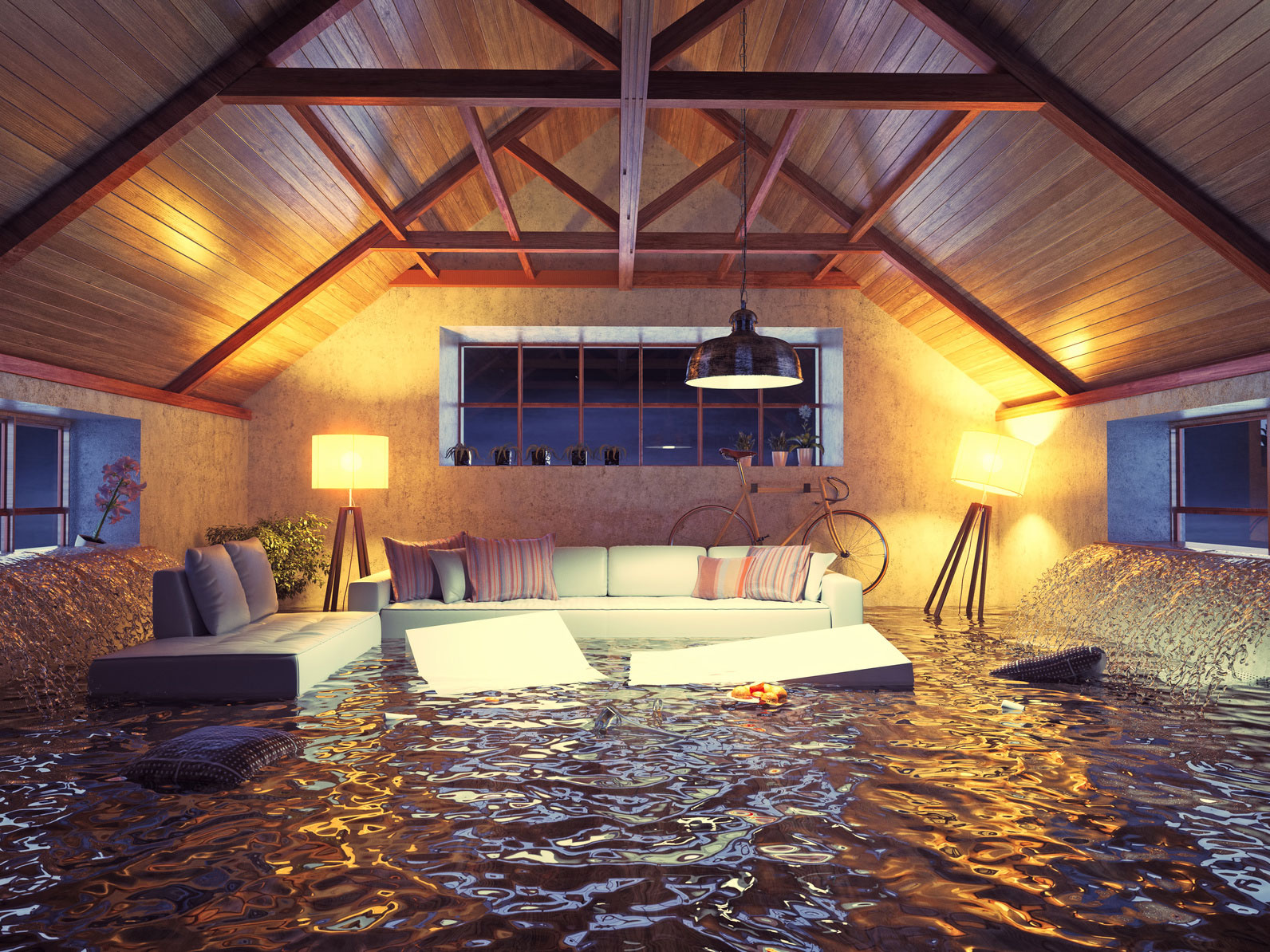 deteção de inundação