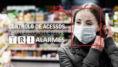 Controlo de Acessos com Deteção de Febre